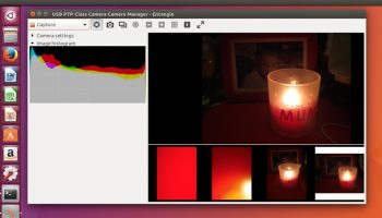 Entangle photo app on Ubuntu