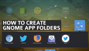 create and add gnome app folders