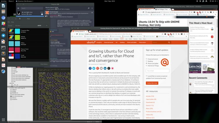 gnome shell unity style