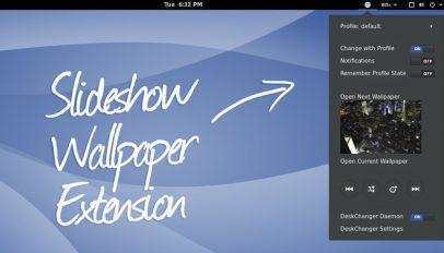 GNOME Slideshow Wallpaper Extension Hero