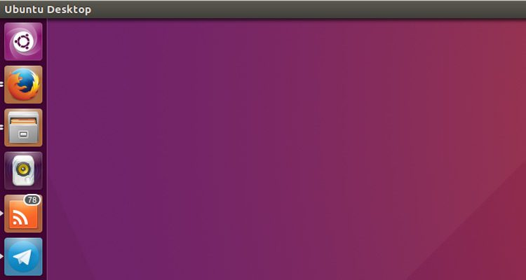 a screenshot of the Ubuntu unity launcher
