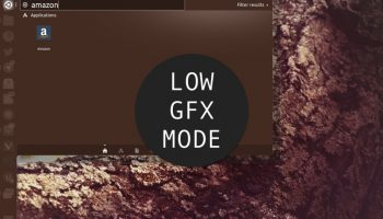 low graphics mode unity 7