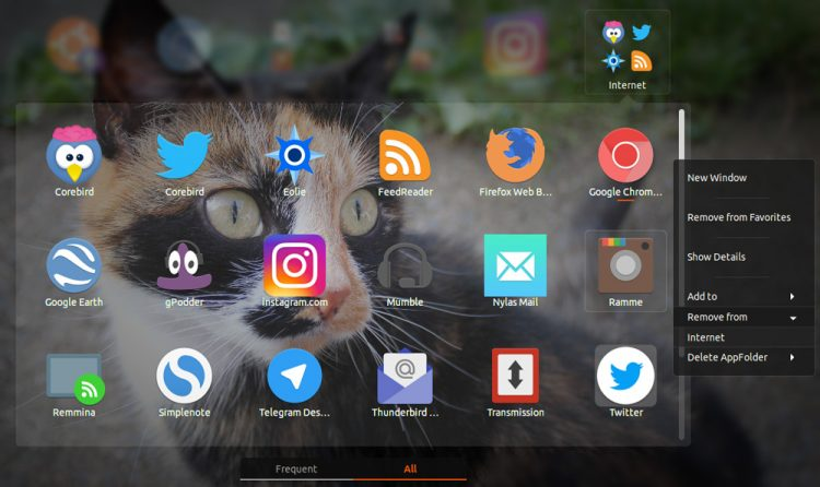 gnome app folders manager