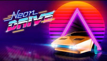 neon drive game