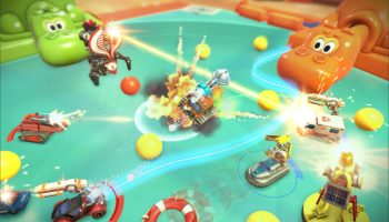 micro machines: world series gameplay