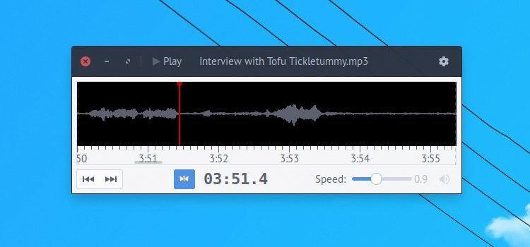 parlatype transcription app
