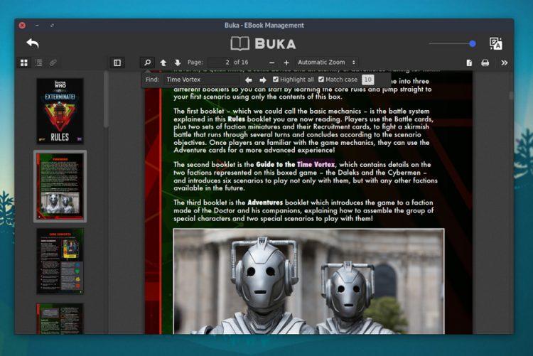 Buka pdf viewer on ubuntu