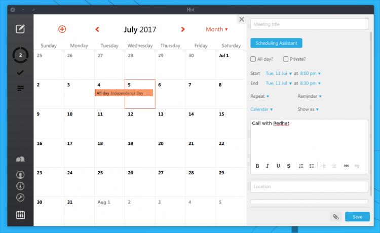 hiri calendar