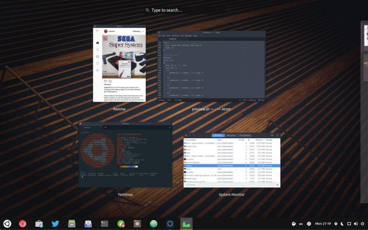 electron apps in window spread