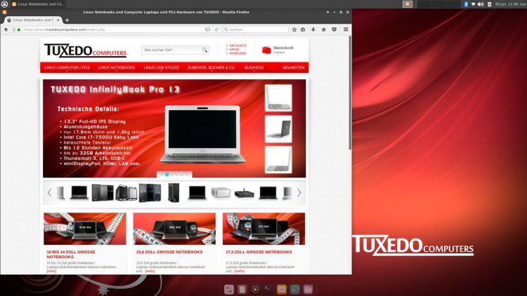 tuxedo Xubuntu 16.04 LTS