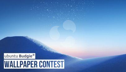 ubuntu budgie wallpaper contest logo