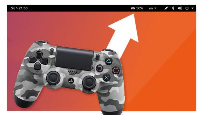 dual shock 4 battery level extension