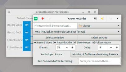 green recorder 3.0 screenshot
