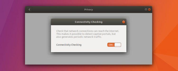 ubuntu captive portal connectivity check setting