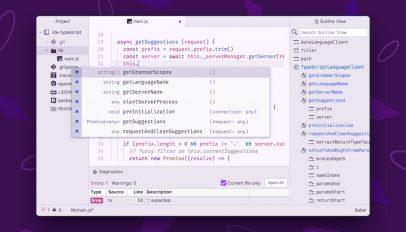 The atom Text Editor screenshot