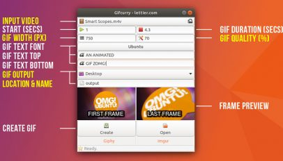 gifcurry software annotated