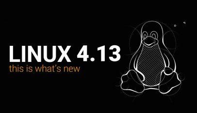 Linux 4.13 kernel