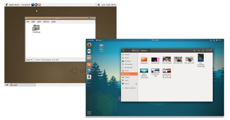 Ubuntu: Then & Now