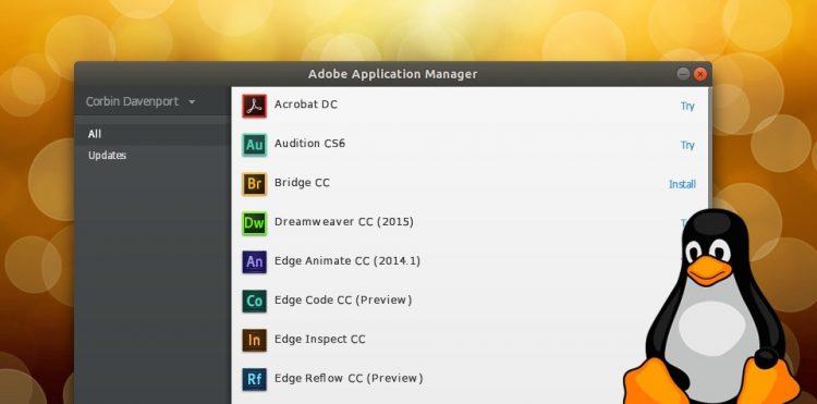 This Script Helps Install Adobe Creative Cloud On Linux Omg Ubuntu