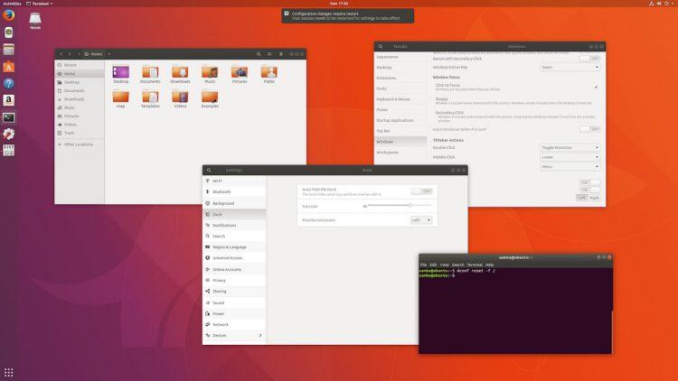 ubuntu defaults