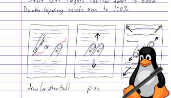 linux handwriting app