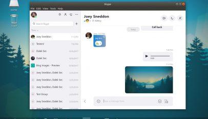 new skype for desktop