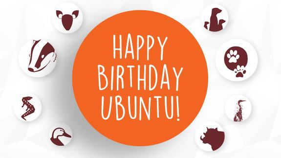 Ubuntu Birthday