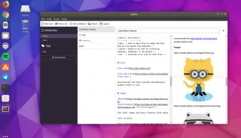 Joplin desktop app on ubuntu