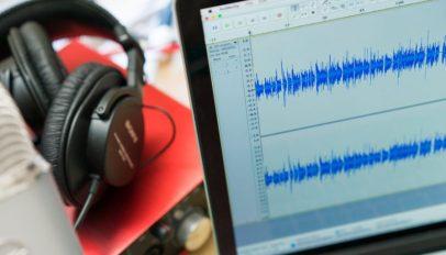 the audacity audio editor