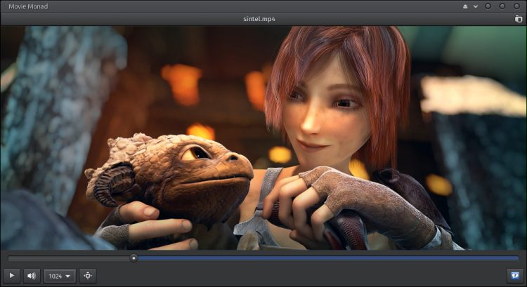 movie monad gtk video player