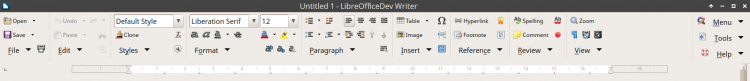 Groupedbar Full in LibreOffice 6.0 office suite