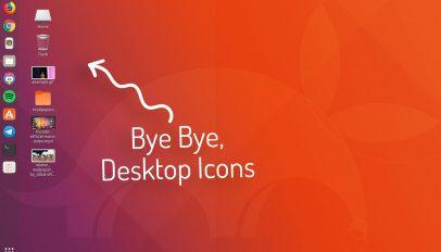 desktop icons on the gnome 3 desktop