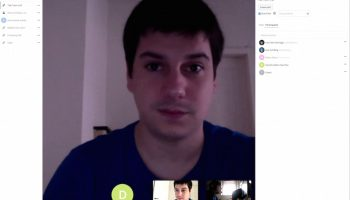 nextcloud talk video chat