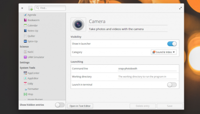 AppEditor lets you edit app menu entries on ubuntu