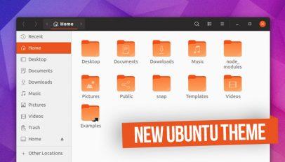 the new ubuntu theme