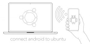 connect android to ubuntu wirelessly