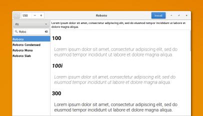 Font Finder for Linux