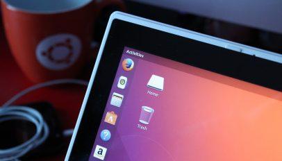 ubuntu 18.04 LTS on a laptop
