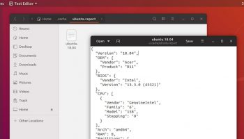 Ubuntu system data collection