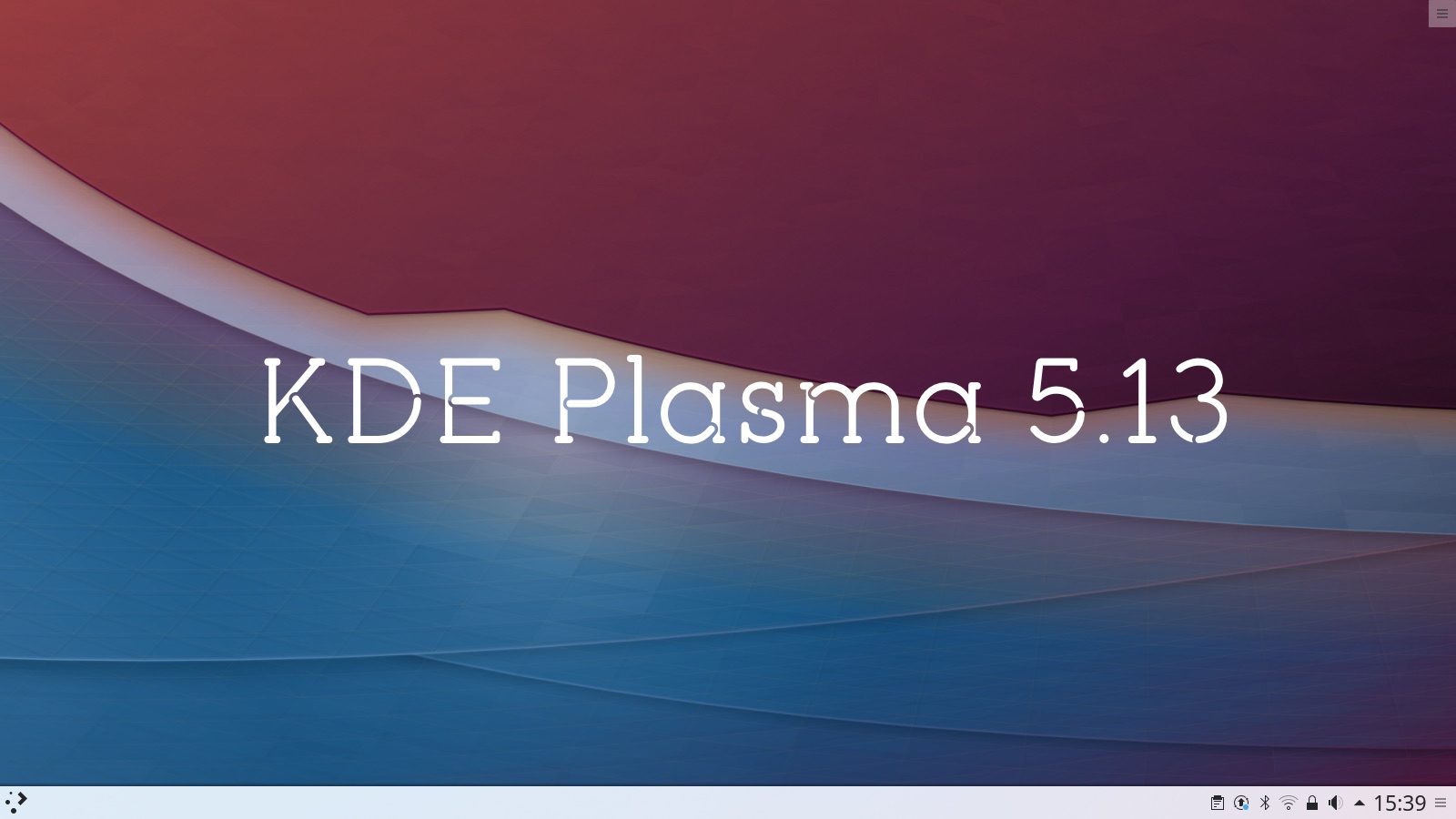 Kde plasma 5.13 desktop screenshot