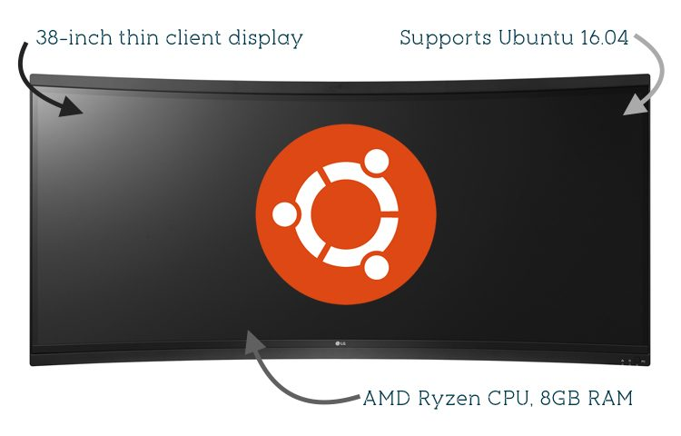 LG curved monitor ubuntu