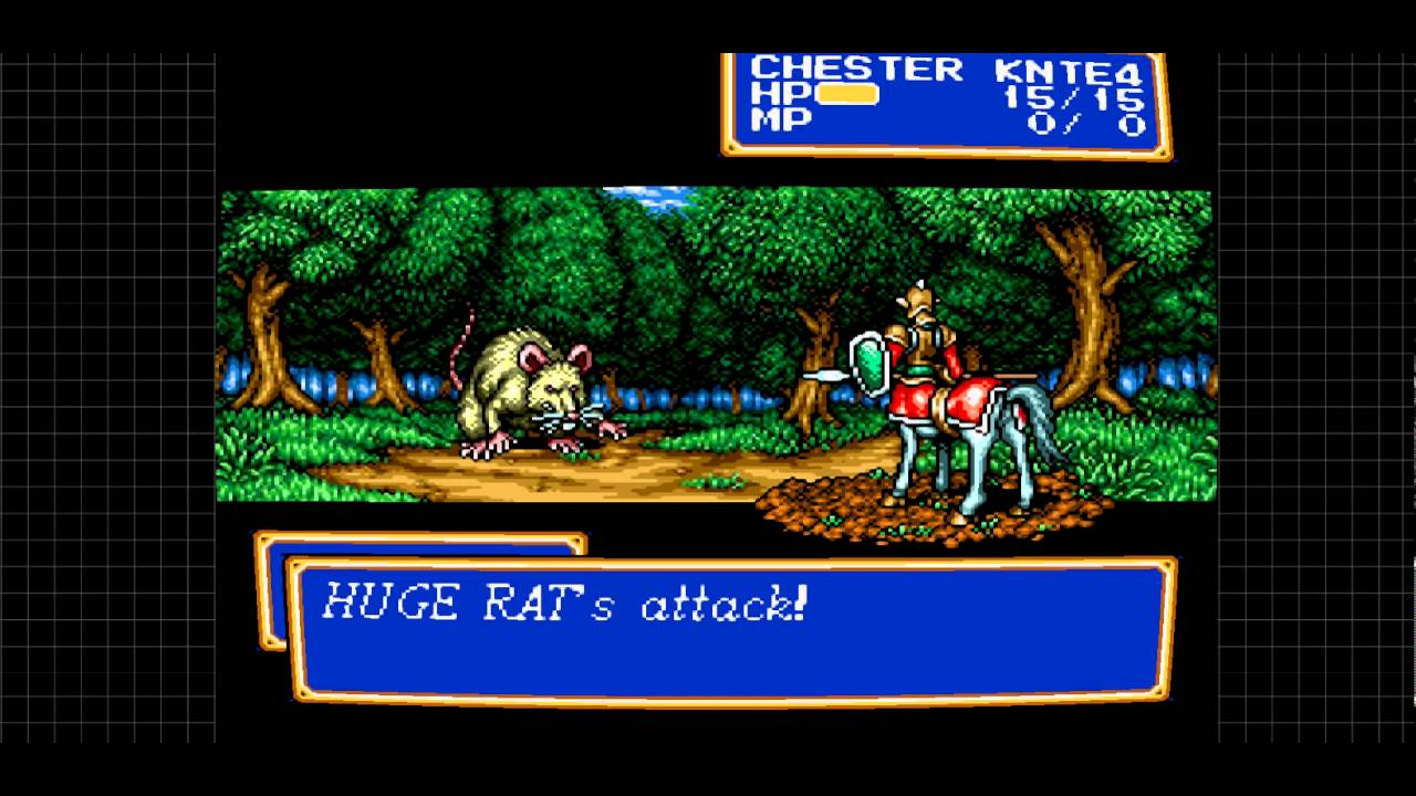 SEGA Genesis mega drive classics: Shining Force RPG