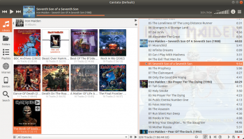 cantata screenshot
