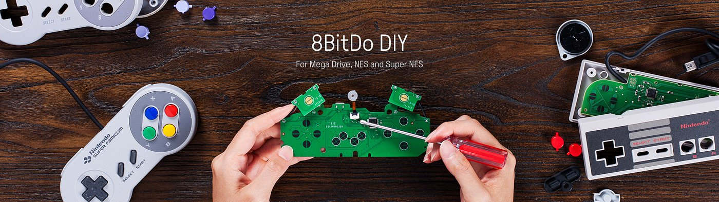 8bitdo DIY kit hero