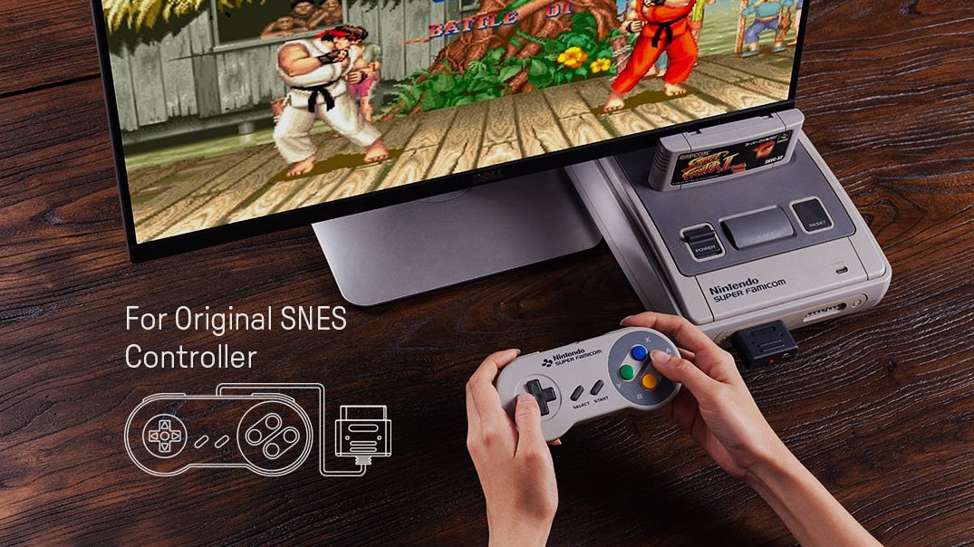 8bitdo SNES controller DIY street fighter