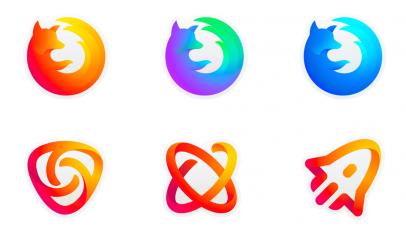 firefox logo designs