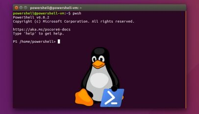 you can install powershell snap app on ubuntu linux