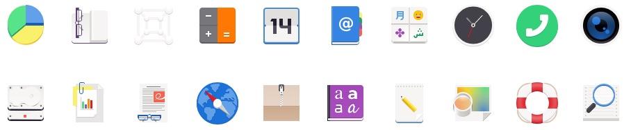 new gnome icon redesigns