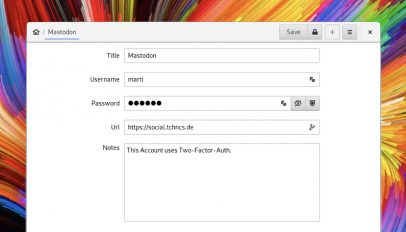 Password Safe is a GTK KeePass app for Linux