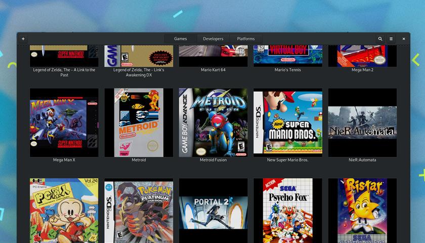 GNOME Games App